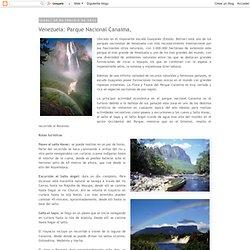 Venezuela: Parque Nacional Canaima,