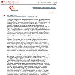 Congreso de Rosario. Español internacional e internacionalización del español. José Luis de Diego.