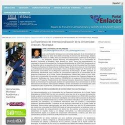 La Experiencia de Internacionalización de la Universidad Uraccan, Nicaragua