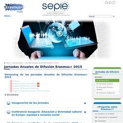 Jornadas Anuales de Difusión E+ 2015 - Comunicación - Servicio Español para la Internacionalización de la Educación