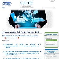 Jornada informativa Educación Superior - Comunicación - Servicio Español para la Internacionalización de la Educación