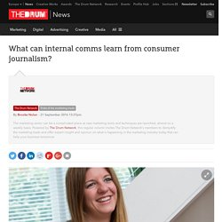 What can internal comms learn from consumer journalism?
