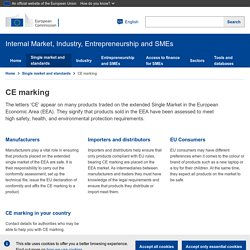 Internal Market, Industry, Entrepreneurship and SMEs