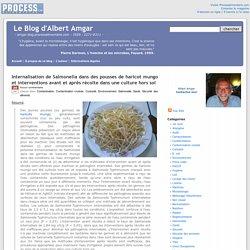 BLOG D ALBERT AMGAR 29/04/14 Internalisation de Salmonella dans des pousses de haricot mungo et interventions avant et après récolte dans une culture hors sol