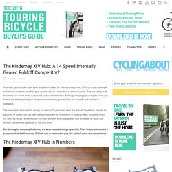 The Kindernay XIV Hub: A 14 Speed Internally Geared Rohloff Competitor? - CyclingAbout CyclingAbout