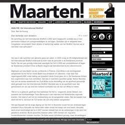 Maarten van Rossem - Het Internationaal Strafhof - Maarten!