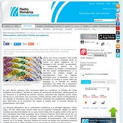 Radio Romania International - Absorption zéro des fonds européens