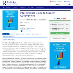 International Guide to Student Achievement (Paperback)