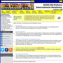 GCSE/IB History: International Relations, 1929-39