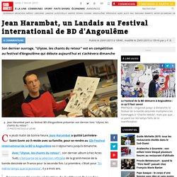 Jean Harambat, un Landais au Festival international de BD d'Angoulême