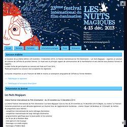 """""""Les Nuits Magiques"""" - Festival International du Film d'Animation"""