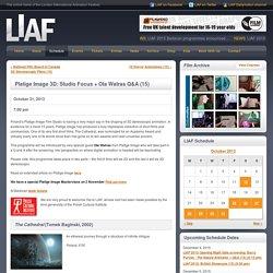 Platige Image 3D: Studio Focus + Ola Watras Q&A (15) – London International Animation Festival
