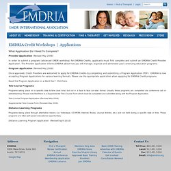 EMDR International Association: What Is EMDR?