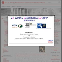 Network of International Centers for the Conservation of Architectural Heritage