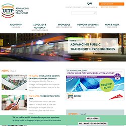 UITP - International Association of Public Transport