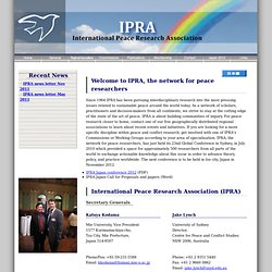 International Peace Research Association