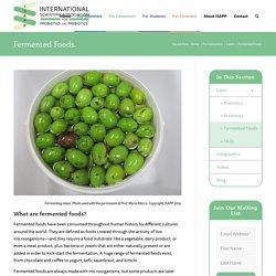 Fermented Foods - International Scientific Association for Probiotics and Prebiotics (ISAPP)