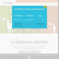 22h de Formation et de ressources sur la dyslexie proposées par Dyslexia International et soutenues par Anapedys