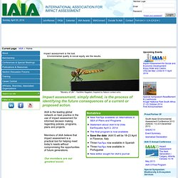 International Association of Impact Assessment