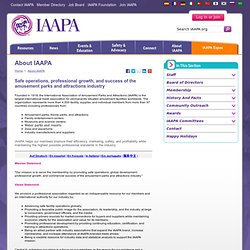 About IAAPA - International Association of Amusement Parks and Attractions