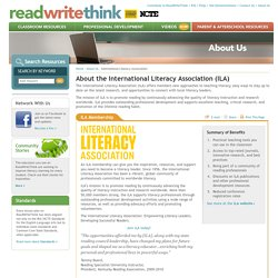 International Reading Association (IRA)
