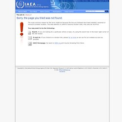 INPRO Starting Page