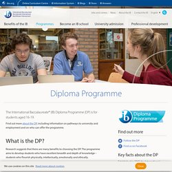 Diploma Programme - International Baccalaureate®