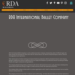 RDA INTERNATIONAL BALLET COMPANY