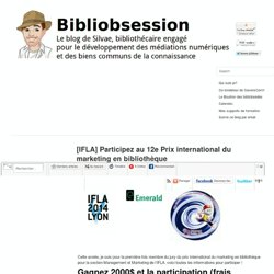 [IFLA] Participez au 12e Prix international du marketing en bibliothèque
