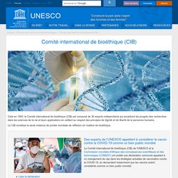 UNESCO - Comité international de bioéthique