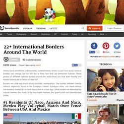 22+ International Borders Around The World