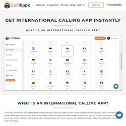 Get International Calling App For Your Business in 2018