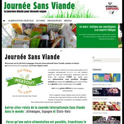 Journée Sans Viande - International Campaigns