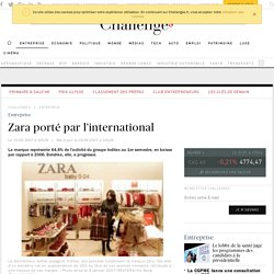 Zara porté par l'international