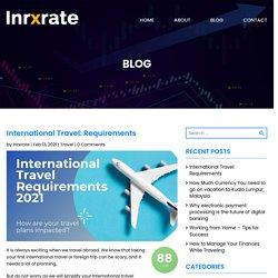 Best 10 International Travel Checklist