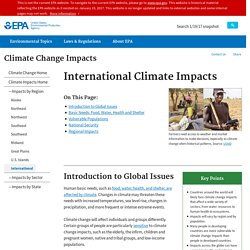 International Climate Impacts