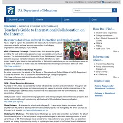 ED Teacher's Guide to International Collaboration on the Internet