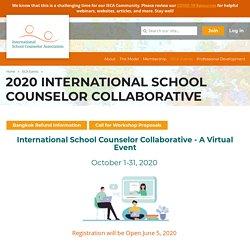 ISCA - 2020 International School Counselor Collaborative