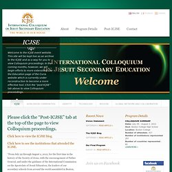 International Colloquium on Jesuit Secondary Education
