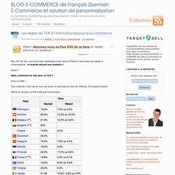 Les règles de TVA à l'international pour le e-commerce
