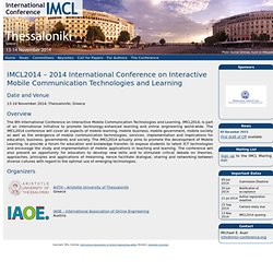 IMCL - Interactive Mobile And Computer Aided Learning