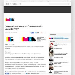 International Museum Communication Awards 2007