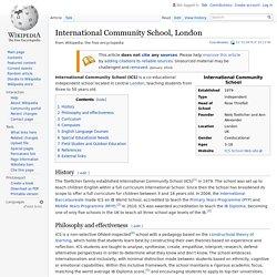 International Community School, London