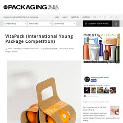 VitaPack (International Young Package Competition) on Packaging of the World