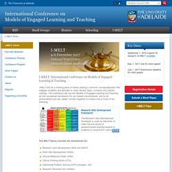 International Conference on Models of Engaged Learning and Teaching