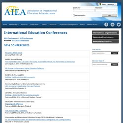 International Education Conferences