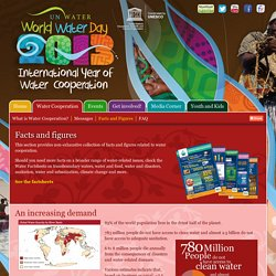2013 - United Nations International Year of Water Cooperation: Facts and Figures