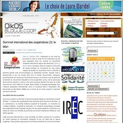 Sommet international des coopératives (3): le bilan