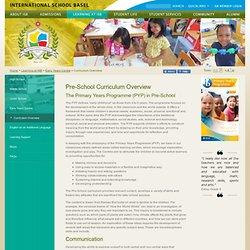 International School Basel: Curriculum Overview