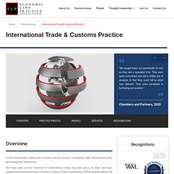 International Trade and Customs Practice